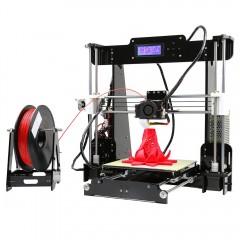 Anet A8 High Accuracy 3D Desktop Printer BLACK UK PLUG