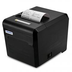 GOOJPRT JP80A Bluetooth Thermal Printer with USB S BLACK EU PLUG