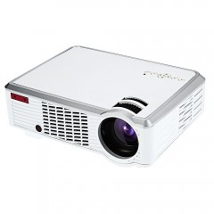 LED - 33 LCD Projector Media Player 2600 Lumens 85 WHITE US PLUG