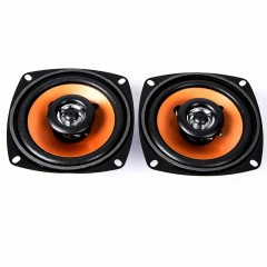FLT-4230 4.0 inch 20W Two-way Coaxial Car Audio Lo BLACK AND ORANGE