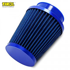 TIROL T11649 Air Filter Universal Auto Cold Air In BLUE