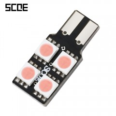 SCOE T10 4B 4SMD LED Single Sided Energy-saving Re VIOLET