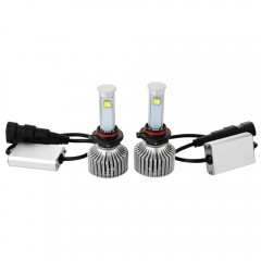 9006 - A 6000K X7 LED Headlight Bulbs All-in-one C BLACK