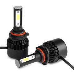 2PCS S2A 9006 / HB4 Car LED Headlight 9 - 30V 72W  BLACK