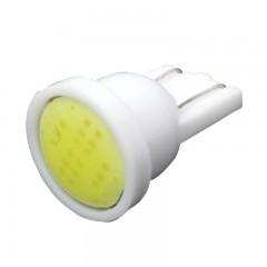 10PCST10 W5W 194 168 COB LED Car Instrument Dash L WHITE