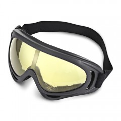 BOLLFO BF653 Motorcycle Goggles Anti-UV Windproof  YELLOW