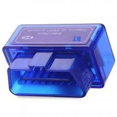 Bluetooth Mini OBDII V2.1 Auto Diagnostic Scanner  BLUE