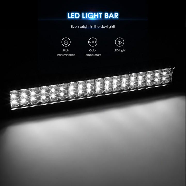 10 - 30V 162W LED Light Bar Flood Spot Combo Work Lights for Truck Car