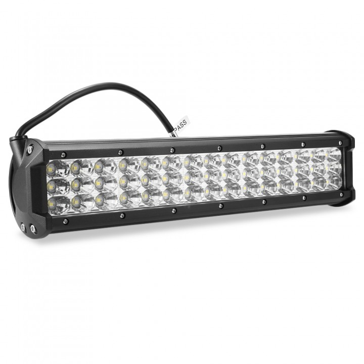 10 - 30V 135W LED Light Bar Flood Spot Combo Work  BLACK SPOT LIGHT