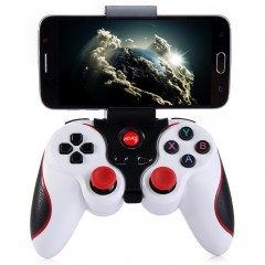 T3 Wireless Bluetooth 3.0 Gamepad Gaming Controlle WHITE