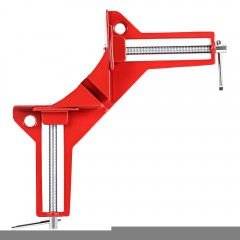 Reinforced 90 Degree Right Angle Clamp RED