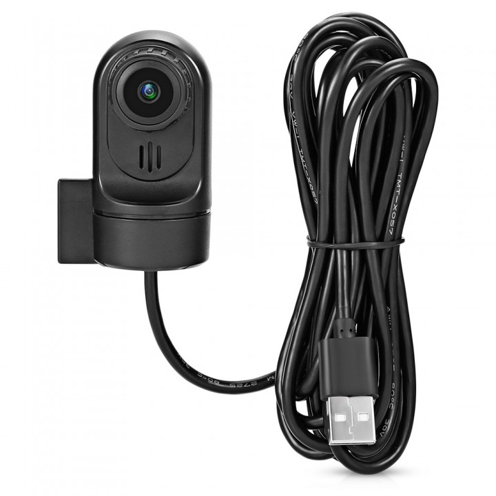 STAPON T7 Car USB Camera DVR Video Recorder with M BLACK
