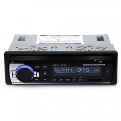 JSD - 520 12V Bluetooth V2.0 Car Stereo Audio In-d BLACK