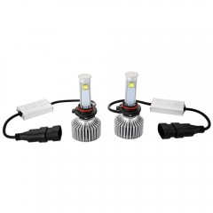 9005 - A 6000K X7 LED Headlight Bulbs All-in-one C BLACK