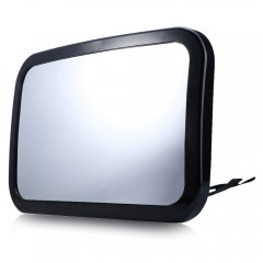T22056 Rear View Baby Mirror Rear Facing Car Rotat BLACK
