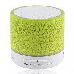 LED Bluetooth Speaker Wireless Hands Free Subwoofe GREEN