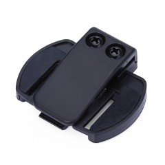 Intercom Accessory V6 Clip Holder for Motorcycle B BLACK