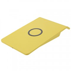 Qi Wireless Charger Dock Charging Stand YELLOW