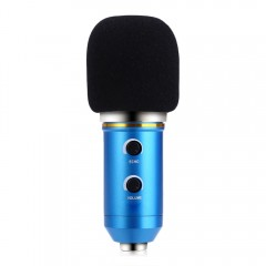 BM - 300FX Audio Sound Recording Condenser Microph BLUE