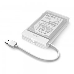 Maiwo K104 2.5 inch USB 3.0 Hard Drive Enclosure WHITE