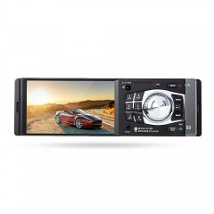 4012B 4.1 inch Car MP5 Vehicle-mounted Radio Multi BLACK WITH CAMERA