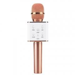 Portable Wireless Karaoke KTV Microphone Mic Handh ROSE GOLD