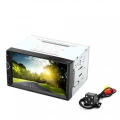 8001 7 inch 2-din 12V Car Multimedia MP5 Player wi BLACK SOUTH AMERICAN MAP