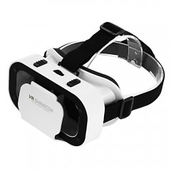 VR SHINECON G05A Virtual Reality 3D Glasses for 4. WHITE