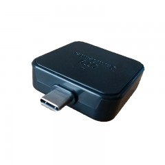 Usb3.1 Type-c Two in one OTG Reader Adapter For SD BLACK