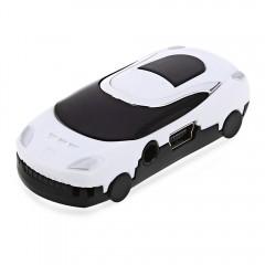 Stylish Car Style Portable MP3 USB Music Player wi WHITE