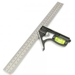300mm DIY Stainless Steel Measuring Tools Aluminiu WHITE