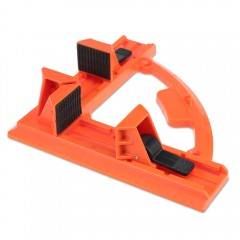 90 Degree Ruggedized Corner Clamp Woodworking Tool ORANGE