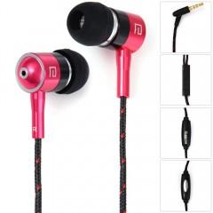 i - 1 1.2m Cable In-ear Earphone 3.5mm Jack Headph PLUM