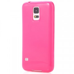 Cute Candy Color Soft TPU Case Cover for Samsung S ROSE