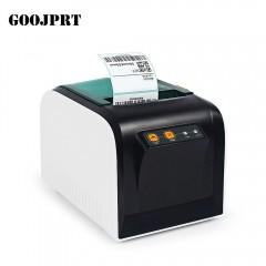 GOOJPRT JP - 3100TU Thermal Label Printer 80mm Sti BLACK WHITE CHINESE PLUG