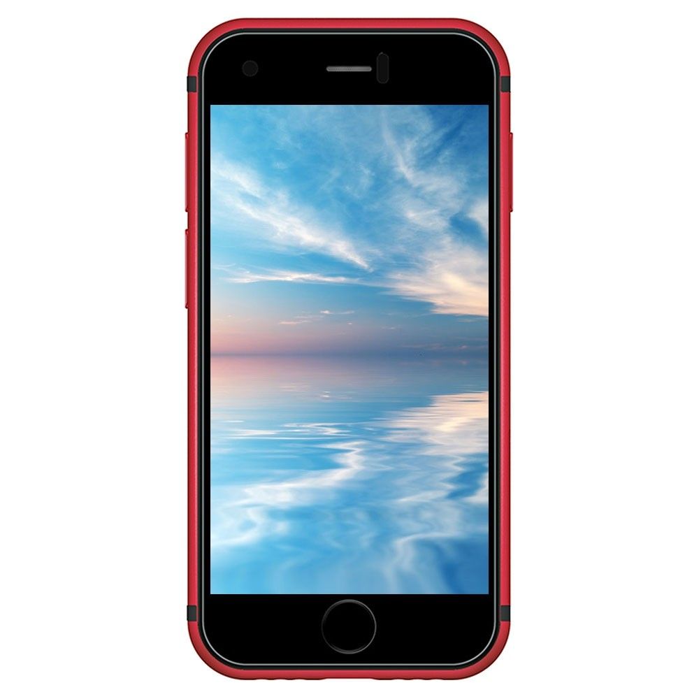 SOYES 7S 2G Smartphone 2 54 inch MTK6580 Quad Core LAVA RED