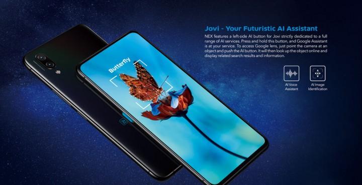 Refurbished Vivo Nex S (Flagship) mobile 8GB+128GB 6 59