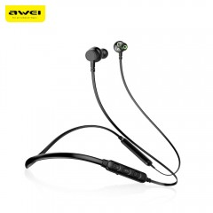 Awei G20BL Dual Drivers Wireless Bluetooth Headpho BLACK