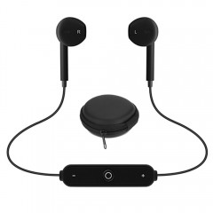 ANDE S6 Bluetooth Sports Headphones with Portable  BLACK