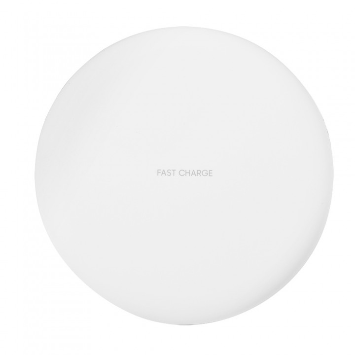 Fast Qi Wireless Charger Ultra Slim Wireless Charg BLACK