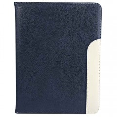 Magnetic Ultra Thin Leather Smart Stand Case Cover DEEP BLUE