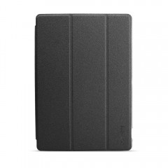 Slim-Fit Folio Case Cover with Back Case for Tecla BLACK