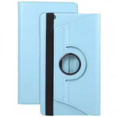 360 Degree Rotating Case Stand Protective Skin PU  AZURE