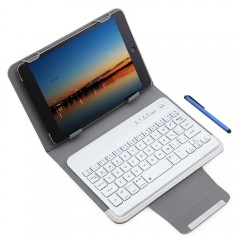 3 in 1 Universal Bluetooth 3.0 Keyboard Protective WHITE