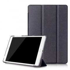 PU Leather Auto Sleep Protective Cover for ASUS Ze BLACK