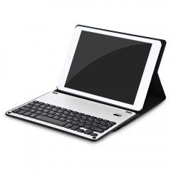 3 in 1 Bluetooth 3.0 Keyboard PU Leather Folio Hol BLACK