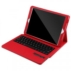 Detachable Wireless Bluetooth 3.0 Keyboard Lichee  RED