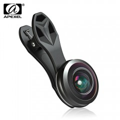 APEXEL APL - 238F 238 Degree Fisheye Lens External BLACK