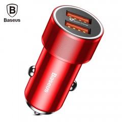 Baseus BSC - C15K Small Screw Dual USB QC3.0 Quick RED