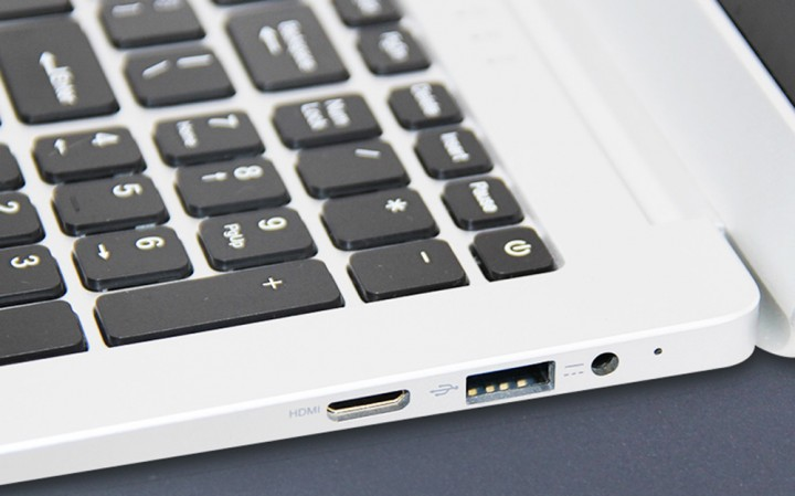 T-bao Tbook R8S Laptop 15.6 inch Windows 10 English Version Intel Celeron N3450 Quad Core 1.1GHz 6GB RAM 128GB SSD HDD HDMI Front Camera